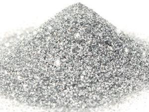 G 01 Glitter esagonale colore argento protetto