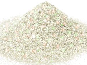 G 03 Glitter esagonale colore iridescente red green protetto