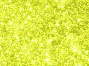 Smalto glitterato giallo fluo